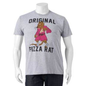 "Big & Tall Teenage Mutant Ninja Turtles ""Original Pizza Rat"" Tee"