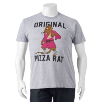 """Big & Tall Teenage Mutant Ninja Turtles """"Original Pizza Rat"""" Tee"""
