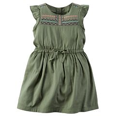 Girls 4-8 Carter's Embroidered Aztec Dress