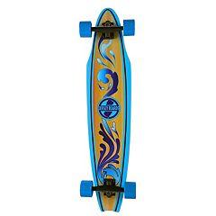 Jersey Boards Blue Wave Cutaway Longboard