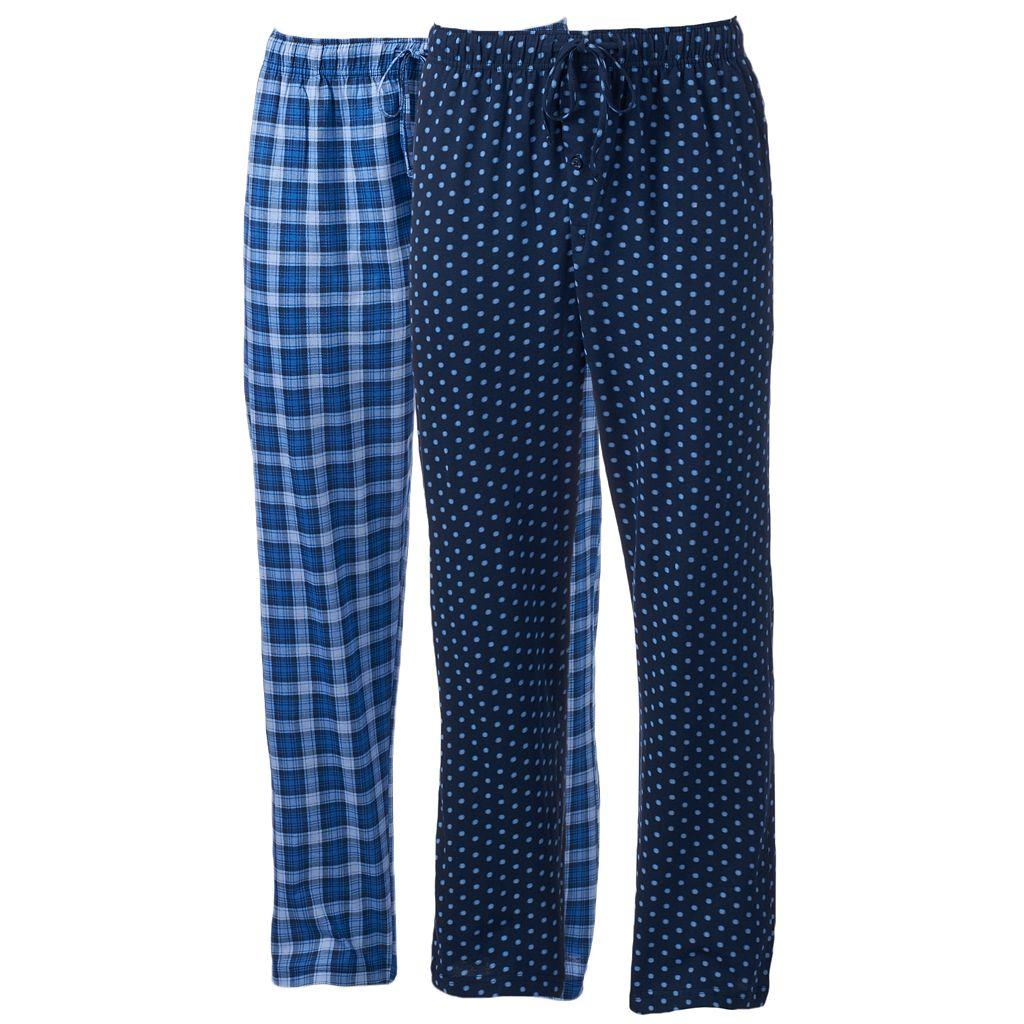 Men's Hanes 2-pack Ultimate X-Temp Lounge Pants