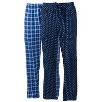 Men's Hanes 2-pack Ultimate X-Temp Lounge Pants