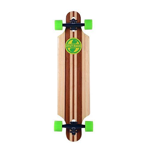 Jersey Boards Bamboo Design Drop-Through Longboard