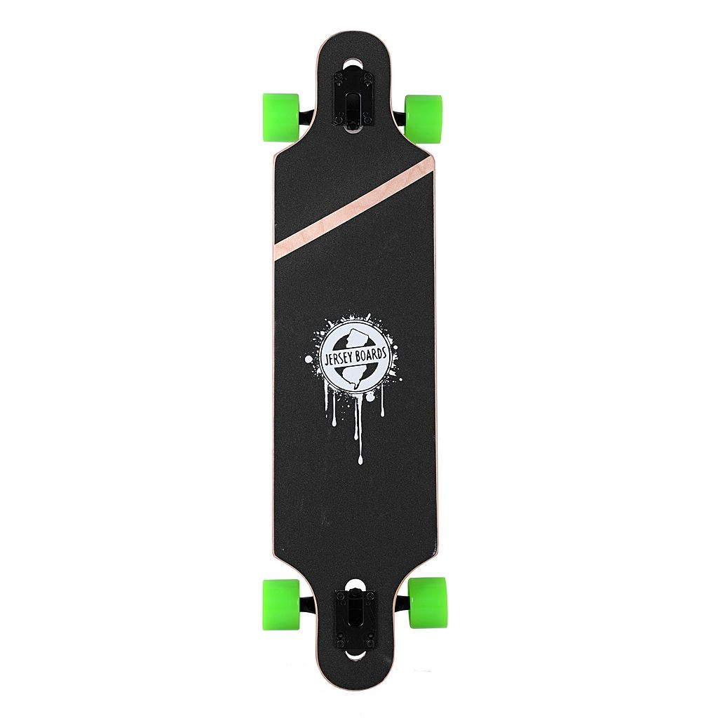 Jersey Boards Bamboo Design Drop-Through Longboard
