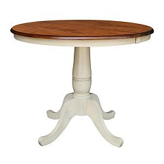 International Concepts 30' Round Pedestal Dining Table