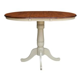 """International Concepts 36"""" Round Pedestal Dining Table"""