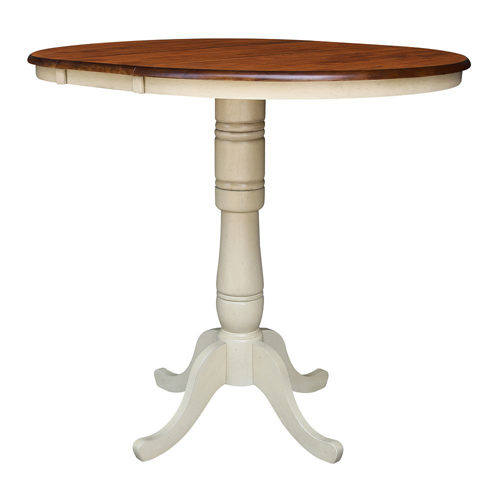 International Concepts 42 Round Pedestal Dining Table