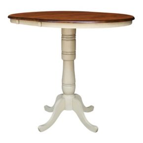 "International Concepts 42"" Round Pedestal Dining Table"
