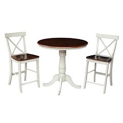International Concepts 36' Raised Dining 3-piece Set