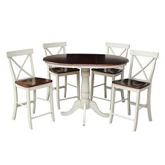 International Concepts 36' Raised Dining 5-piece Set