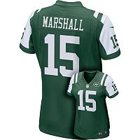Women's Nike New York Jets Brandon Marshall Game NFL Replica Jersey