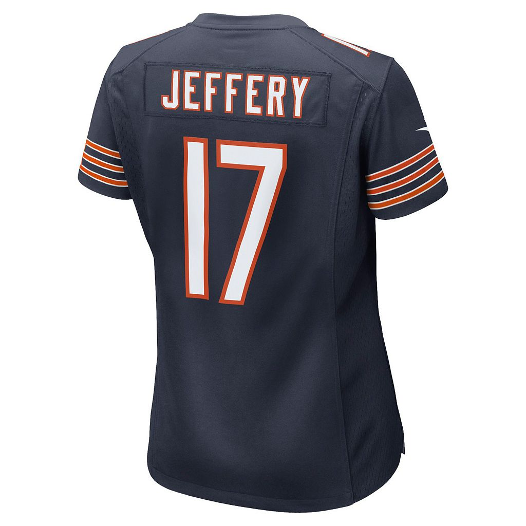 Women's Nike Chicago Bears Alshon Jeffery Game NFL Replica Jersey