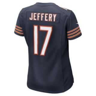 Women's Nike Chicago Bears Alshon Jeffery Game NFL Replica Jersey