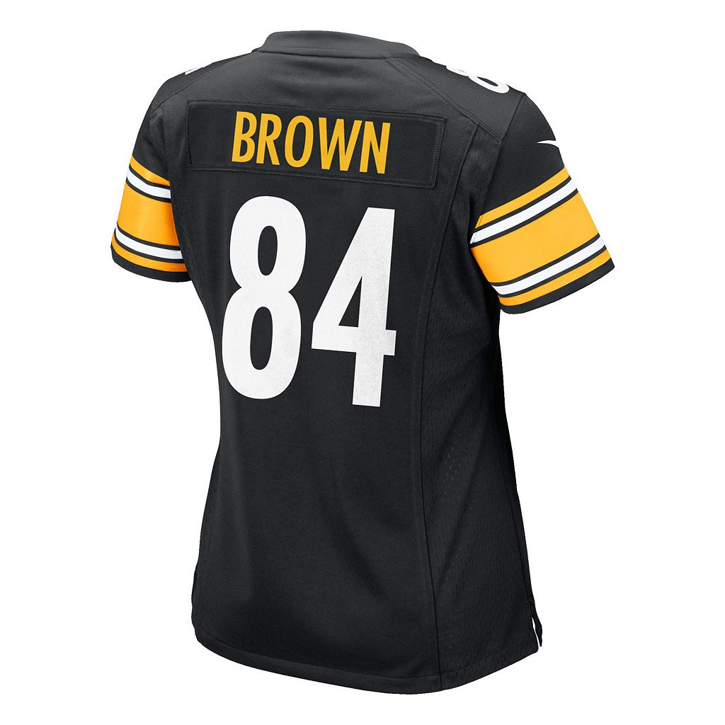 Women's Nike Pittsburgh Steelers Antonio Brown Game NFL Replica Jersey