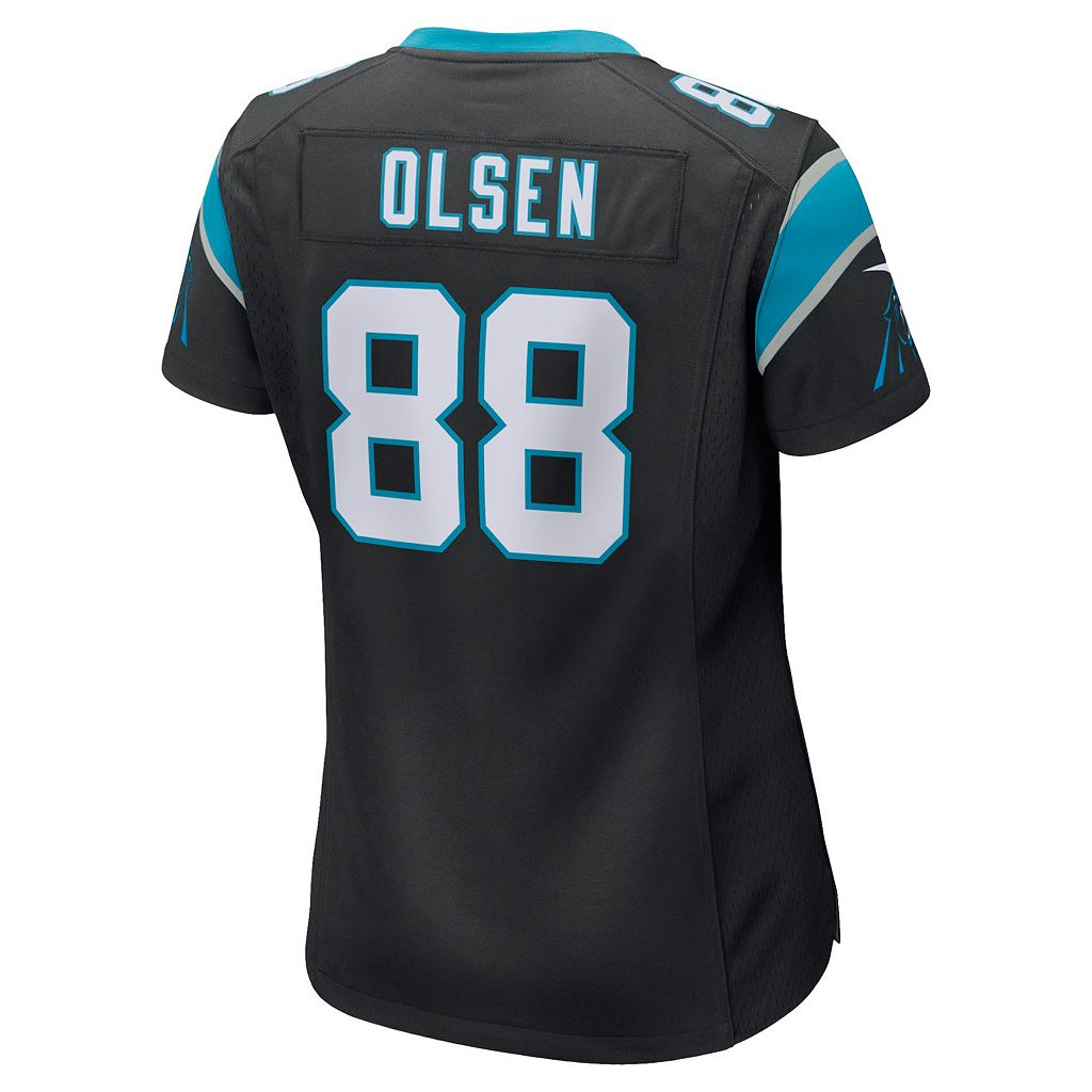 Women's Nike Carolina Panthers Greg Olsen Game NFL Replica Jersey