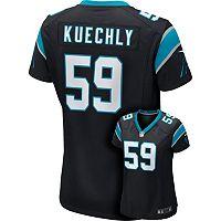 Women's Nike Carolina Panthers Luke Kuechly Game NFL Replica Jersey