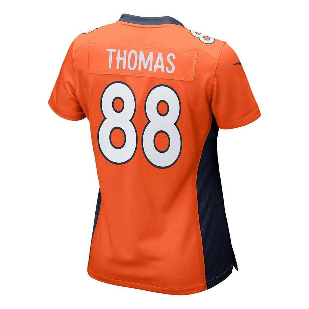 Women's Nike Denver Broncos Demaryius Thomas Game NFL Replica Jersey