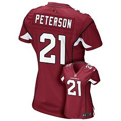 14a3d6d9e2d8 Women s Nike Arizona Cardinals Patrick Peterson Game NFL Replica Jersey