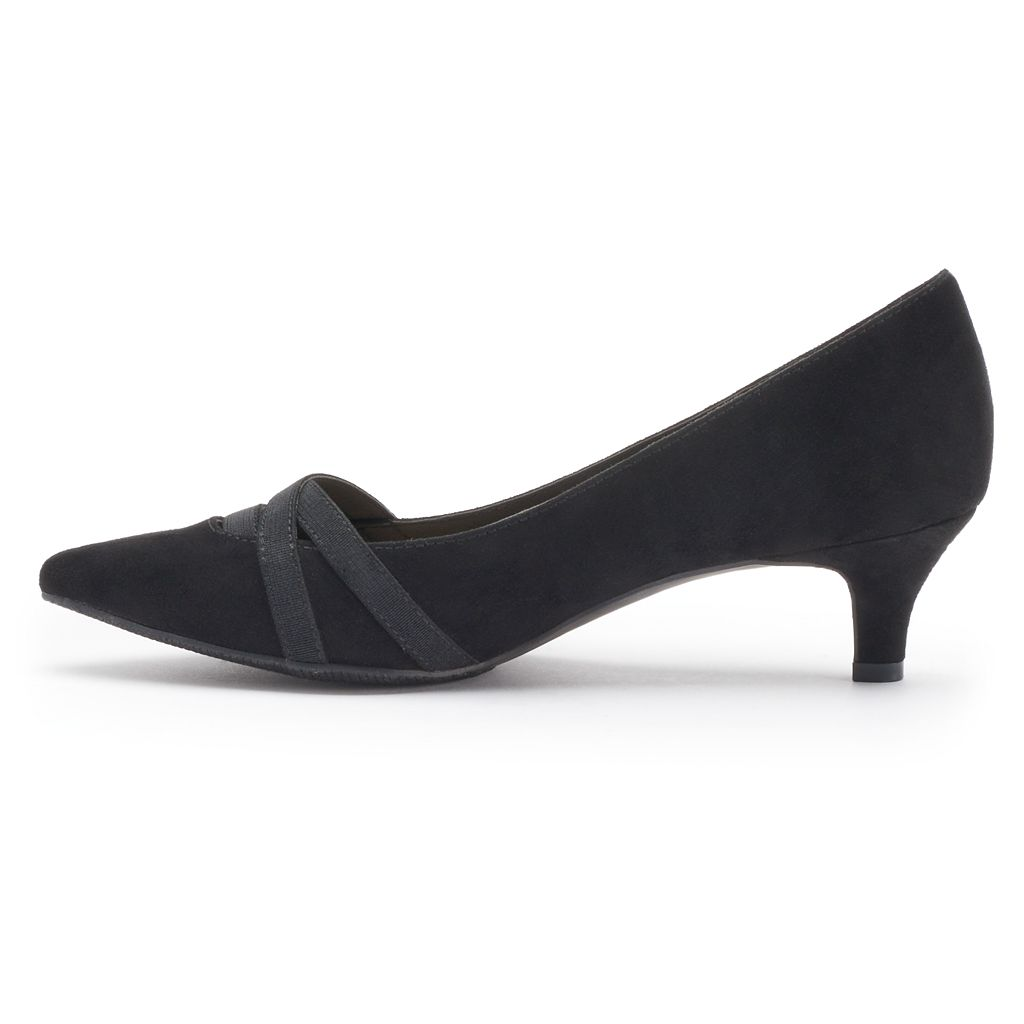 Croft & Barrow® Women's Ortholite Pointed-Toe High Heels