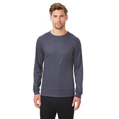 Men's Heat Keep Performance Ribbed Crewneck Tee