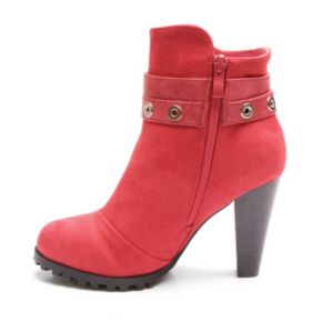 Kisses by 2 Lips Too Too Lift Women's High Heel Ankle Boots