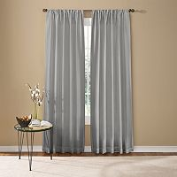 Custom Home Two Tone Window Curtain
