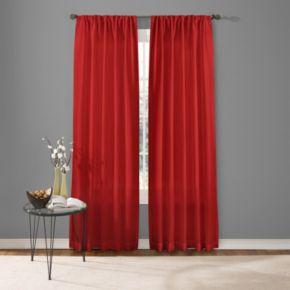 Custom Home Two Tone Window Curtain