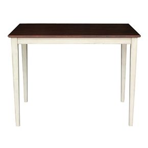 """International Concepts 36"""" Tall Rectangle Dining Table"""