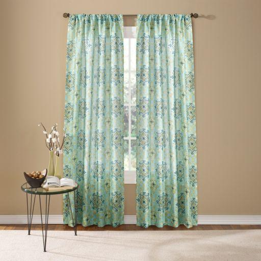 Custom Home Hannah Medallion Window Curtain