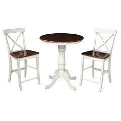 International Concepts 36' Tall Dining 3 pc Set
