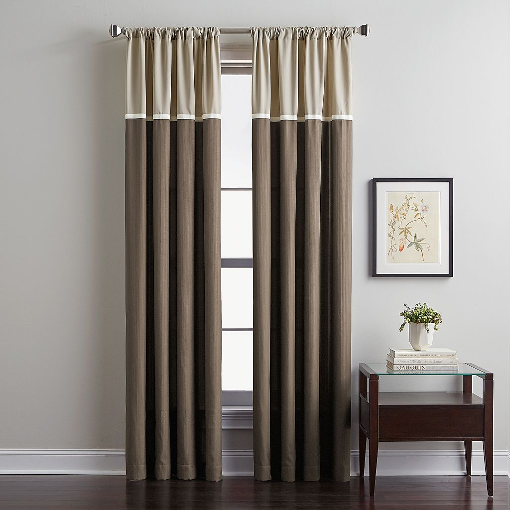 CHF Accolade Colorblock Curtain