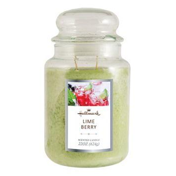 Hallmark Lime Berry 22-oz. Jar Candle
