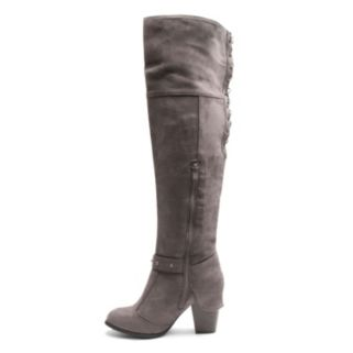Kisses by 2 Lips Too Too Lunar Women's Over-The-Knee Boots