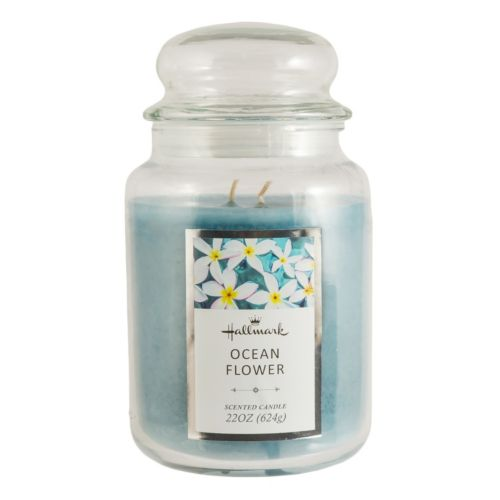 Hallmark Ocean Flower 22-oz. Jar Candle