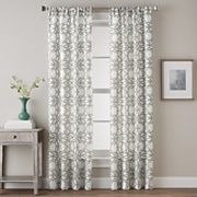 CHF Lotus Harmony Print Window Curtain