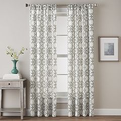CHF 1-Panel Lotus Harmony Print Window Curtain