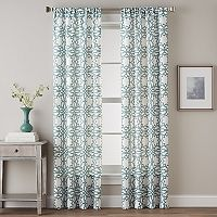 CHF Lotus Harmony Print Window Curtain