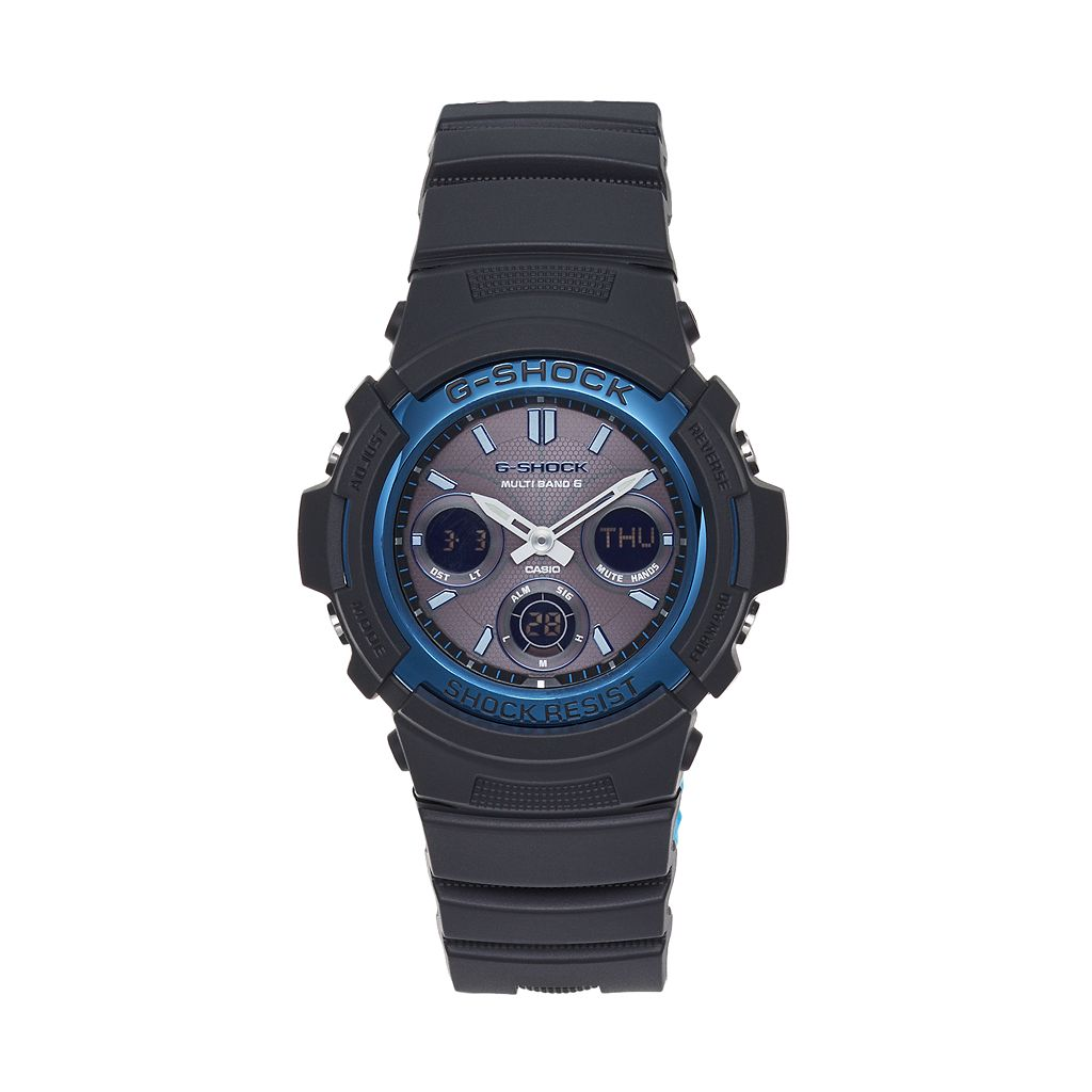 Casio Men's G-Shock Analog & Digital Atomic Solar Watch - AWGM100A-1A