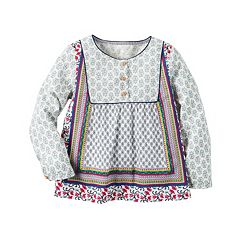 Girls 4-8 Carter's Multi-Pattern Babydoll Top