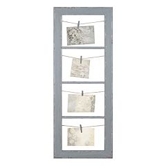 Belle Maison String and Clip 4-Tier Fashion Collage Frame