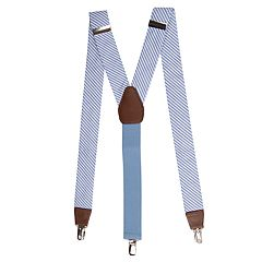 Men's Wembley Tubular Seersucker Suspenders