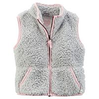 Girls 4-8 Carter's Sherpa Vest