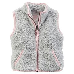 Girls 4-8 Carter's Sherpa Vest