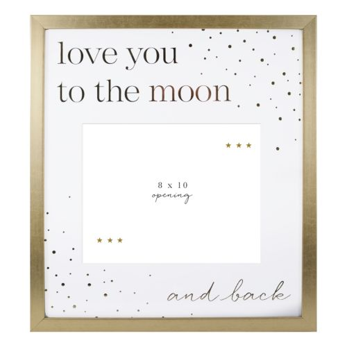 Belle Maison Love You To The Moon 8 X 10 Fashion Collage Frame