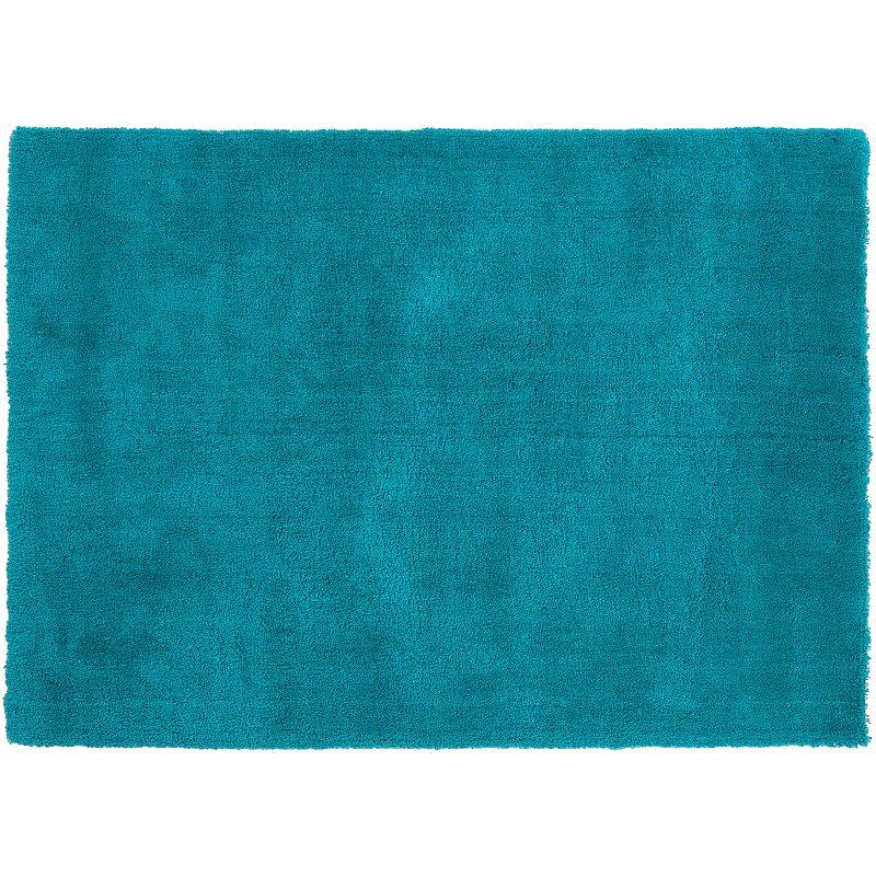 Decor 140 Viniani Solid Shag Rug, Blue, 5X7 Ft
