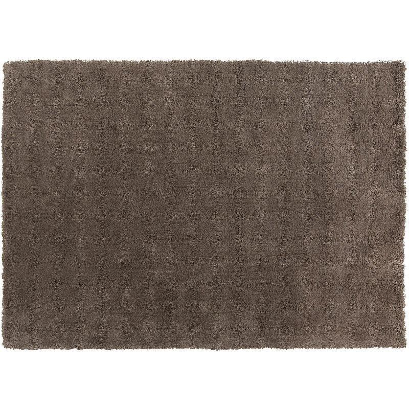 Decor 140 Viniani Solid Shag Rug, Grey, 5X7 Ft