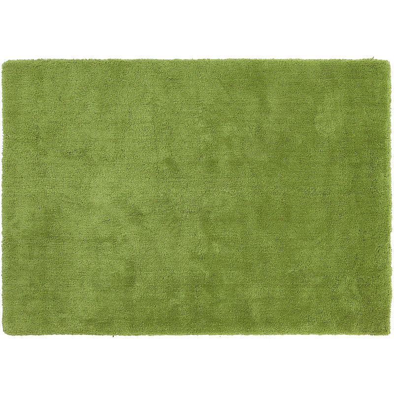Decor 140 Viniani Solid Shag Rug, Green, 8Ft Rnd