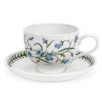 Portmeirion Botanic Garden 6 pc Breakfast Cup & Saucer Set