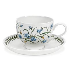 Portmeirion Botanic Garden 6-pc. Breakfast Cup & Saucer Set