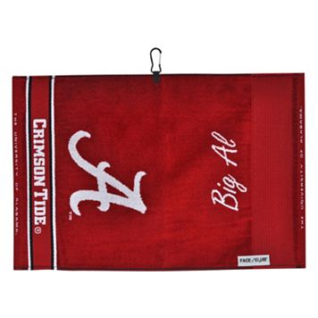 Team Effort Alabama Crimson Tide Jacquard Towel